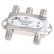 Wideband 4x1 DiSEqC 1.0 Model 4x1W Premium Satellite Switch FTA Dish LNB NC89