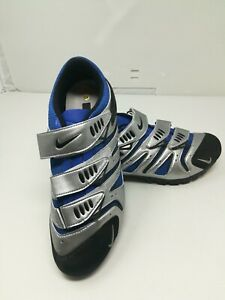 NIKE ACG YVR III Royal Blue Chrome Cycling Soulcycle Shoes Women Size 9.5 M