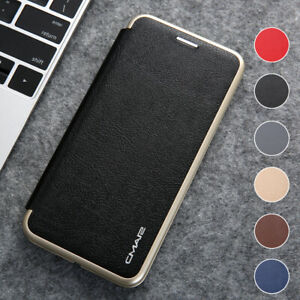 For iPhone 13 12 Mini Pro Max Slim Leather Wallet Case Pouch Magnetic Flip Cover