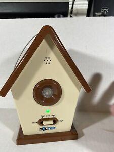 Used Working DOGTEK Sonic Birdhouse Bark Deterrent Pet Toy Device