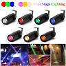 10W Mini LED Stage Lighting Beam Spotlight DJ Disco Bar Xmas Spin Pinspot Light
