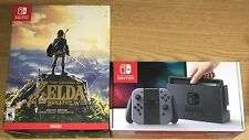 Nintendo Switch Console Legend Zelda Special Edition Breath of the Wild Bundle