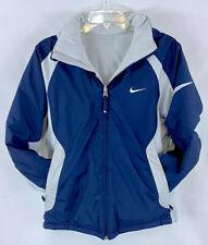 Nike Reversible Full Zippered Zip Up Winter W/ Hood Jacket Youth Boy's M 10/12