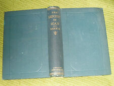 Antiquarian/Collectable/Books.  The Descent of Man.  Charles Darwin.1894. Used.