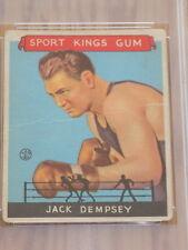 1933 Sport Kings Jack Dempsey Card #17 PSA Fair 1.5 Boxing HOF
