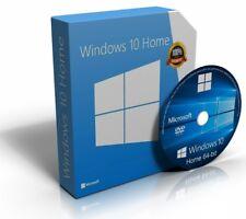 Windows 10 Home 64 Bit re-installare ripristinare il recupero di riparazione disco di avvio DVD di RECUPERO
