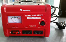 TRANSFORMATEUR 220V-110V ET 110V- 220V 1000W STABILISATEUR TENSION CONVERTISSEUR