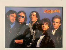 Marillion ,With Info At The Back,Rare Authentic Licensed 1986 Art Print