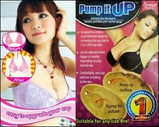 BRAND NEW ADJUSTABLE INFLATABLE PUMP IT UP MAGIC BRA INSERTS LIFT SUPPORT PADS
