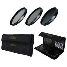 Vivitar 37mm 37 UV + CPL + ND8 Multicoated Filter Kit VIV-FKND-37