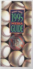 Vintage Detroit Tigers 1995 ML Baseball Media Guide