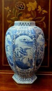 Antike Fayence Vase 18 Jh.