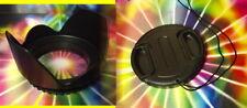 FLOWER HOOD + LENS CAP /HOLDER  to your lens: Sony DT 16-50mm F2.8 SSM Zoom Lens
