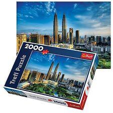 Trefl 2000 piece adulte petronas twin towers de kuala lumpur malaysia jigsaw puzzle