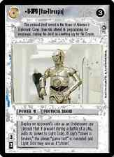 U-3PO (You-Threepio) FOIL [Near Mint/Mint] REFLECTIONS I star wars ccg