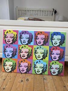Marilyn Monroe Pop Art Canvas Andy Warhol