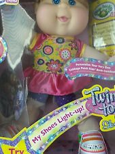 Cabbage Patch Kids Twinkle Toes by Sketchers Red head with blue eyes and DVD