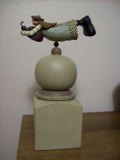 Williraye Studio figurine girl on ball holding ant