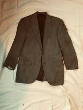 Ralph Lauren Polo Grey tweed wool silk blazer 40 S