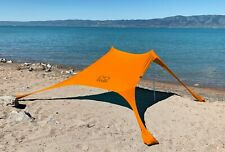 Shades Large Beach Shelter Orange | Sun Shade