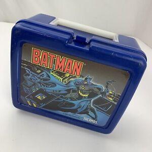 Batman 1991 Thermos Brand Plastic Lunch Box DC Comics