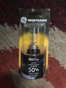 GE Nighthawk Ultra Bight Vehicle Headlight Bulb # 9007 NH/BP 12V (HB5) NEW NIP