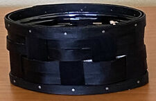 Longaberger 2010 Small Metropolitan Black Basket With Protector