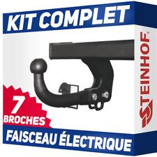 Fiat Fiorino 08-16 Attelage fixe+faisceau 7 broches