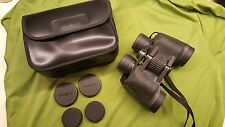 Minolta Classic II 7x35 W wide angle 9.3º degree multi-coated binoculars case