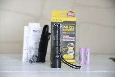 Nitecore MH25 Taschenlampe USB ladbar LED Cree XM L2 U2 zwei Akkus Night Blade