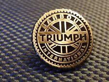 A QUALITY BARBOUR INTERNATIONAL- TRIUMPH  badge