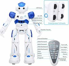 Robot Toys RC Robot for Kids Rechargeable Intelligent Programmable Robot