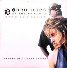2 Brothers On The 4th Floor Feat. Des'Ray And D-Rock ‎CD Single Dreams