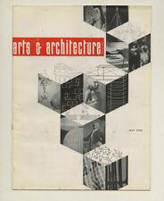1955 California Designed Exhibit ARTS + ARCHITECTURE Robert Tague Greta Grossman