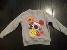 Stella McCartney Baby Girls Jumper 24 Months 2 Years Old Floral Rrp $150