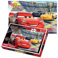 Trefl 160 pezzi Bambini Ragazzi Disney Pixar LIGHTING MCQUEEN CARS 3 PUZZLE NUOVO