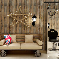 3D Vintage Wood Grain Contact Paper Self-adhesive Kitchen Home  Decor Wallpaper