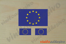 PEGATINA STICKER VINILO Bandera Europa UE Europe autocollant aufkleber adesivi