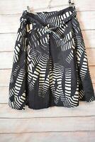 Ojay Skirt Size 10 Medium Grey Black White A Line Skirt