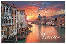 Venice Italy Sunrise, Grand Canal Santa Maria Della Salute etc - Modern Postcard