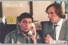 Télécarte carte téléphonique Cinéma Gérard Depardieu Christian Clavier Film