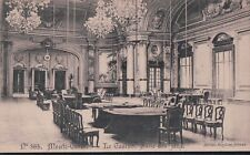 """2 Bit Postcards-C253 1910-20? """"Monte Carlo-Le Casino. Salle des Jeux."""" *"""