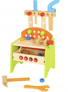 Toy Wooden Work Bench **NEW**