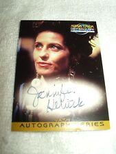 Star Trek Autograph Card Deep Space Nine Jennifer Hetrick as Vash A12