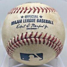 DAVID ORTIZ RBI #1746 of 1768 from MONCADA MLB DEBUT GAME-USED BASEBALL RED SOX