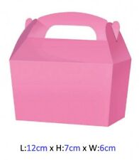 Wedding Cake Slice Boxes Favour Cupcake Gift Party Box - Choose From 13 Colours
