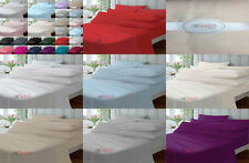 """100% EGYPTION POLYCOTTON EXTRA DEEP FITTED 16""""/41CM PERCALE BED SHEETS,YAW"""