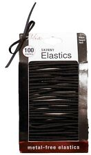 Mia Metal-Free Large Skinny Smooth Elastic RubberBands for the Hair 100pcs
