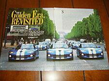 1996 Dodge Viper Gts *Original Article* Tour Germany France Belgium