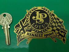 JPS LOTUS RENAULT SPORT car sticker Clio F1 Europa